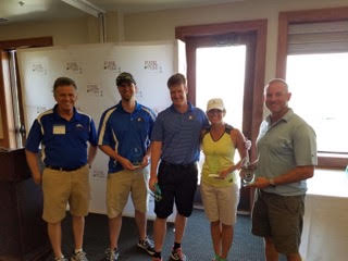 2ND PLACE TEAM- DENNIS MEYER, BRENT JACKSON, TIM COLT, KENDRA SCHURICH, DARREN WITTLEY